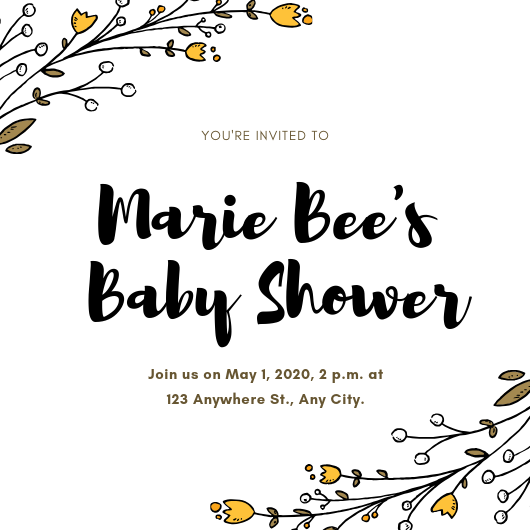 please join us for Marie Bee (1)